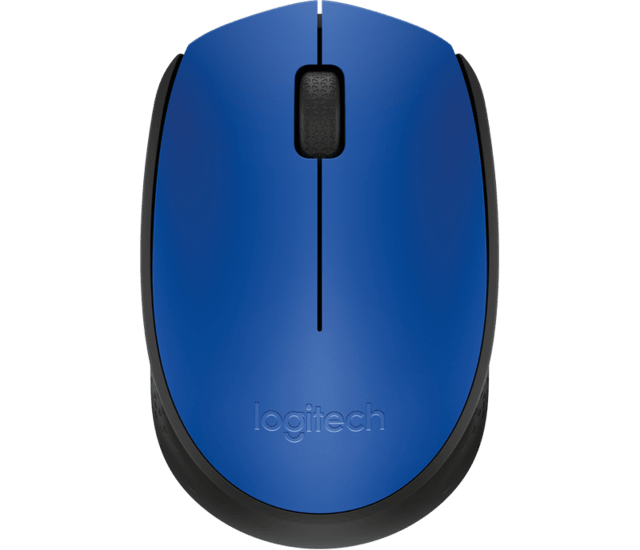 Mouse Inalambrico Logitech M170 Azul Optico