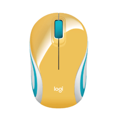Mouse Inalambrico Logitech M187 Wireless Receptor Nano