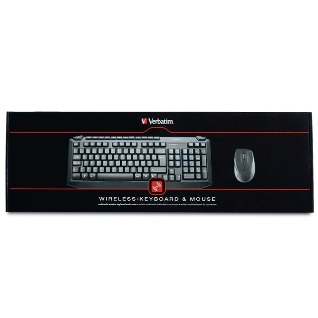 Combo Teclado Mouse Wireless Verbatim 98112 Inalambrico en internet
