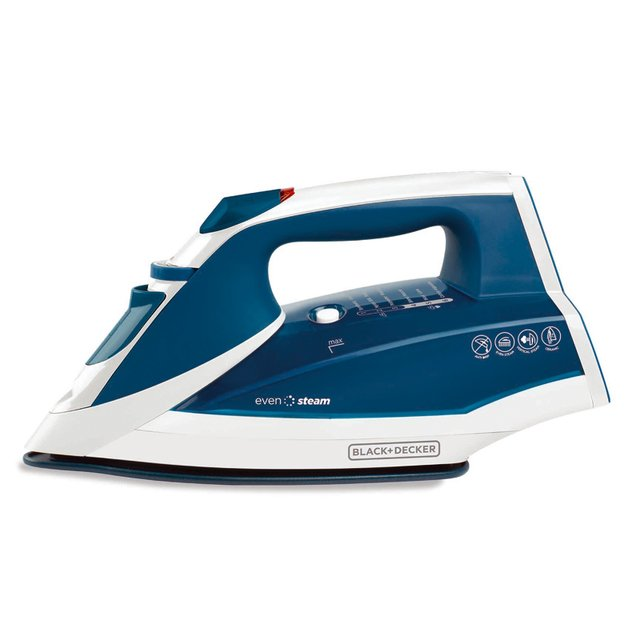 Plancha Black + Decker Ir2060 Vapor Even Steam Ceramic Glide - comprar online