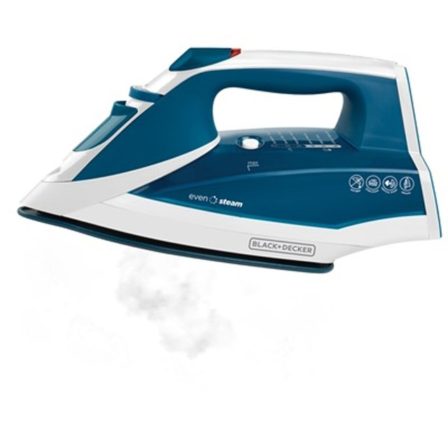 Plancha Black + Decker Ir2060 Vapor Even Steam Ceramic Glide - FsComputers