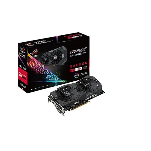 Placa De Video Ati Radeon Amd Rx470 4gb Ddr5 - Asus Strix