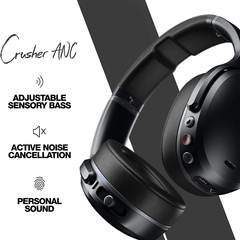 Auriculares Skullcandy Crusher Anc Wireless Negro S6cpw M448 - FsComputers