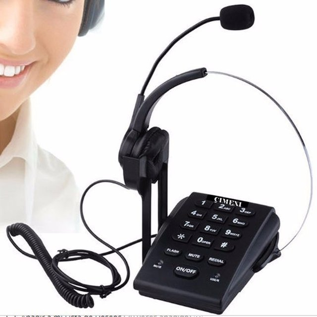 Teléfono Headset Cabezal Ideal Call Center