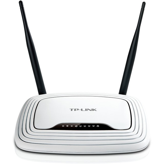 Router Tp-link Mod. Tl Wr 841n 300mbps 2 Antenas Norma N - FsComputers