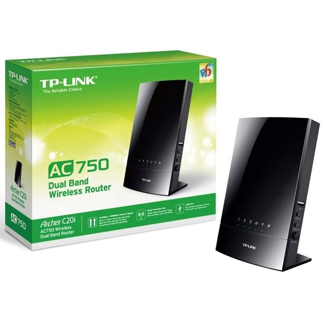 ROUTER TP LINK ARCHER C20I DUAL BAND AC750 en internet