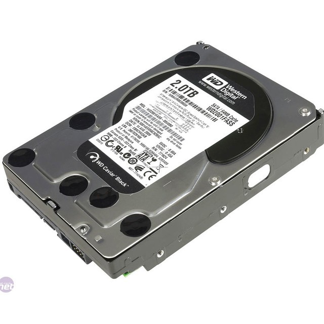 Disco Rigido Wd 2tb Black Sata3 64mb Cache 7200 Rpm