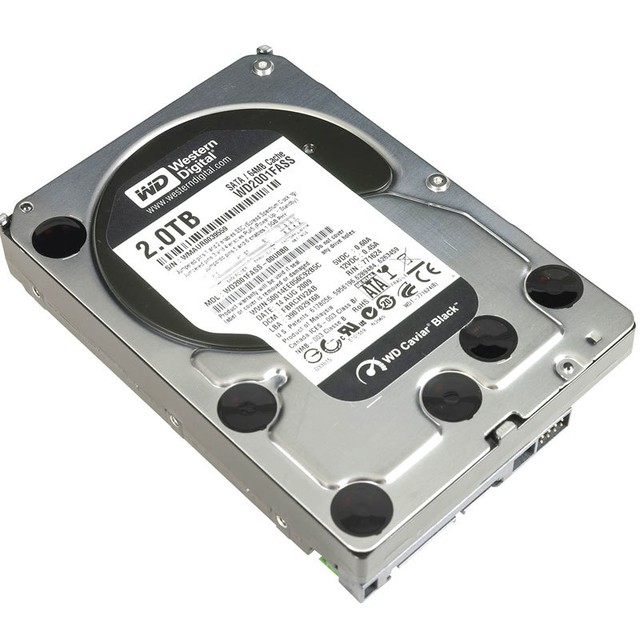 Disco Rigido Wd 2tb Black Sata3 64mb Cache 7200 Rpm en internet