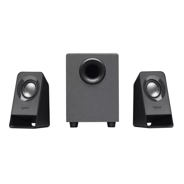 Parlantes Logitech Z211 2.1 Usb Mini Plug Subwoofer 7w Pc Tv