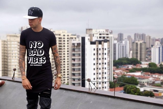 T-SHIRT TT NO BAD VIBES - comprar online