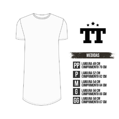 T-SHIRT TRACE WHITE na internet