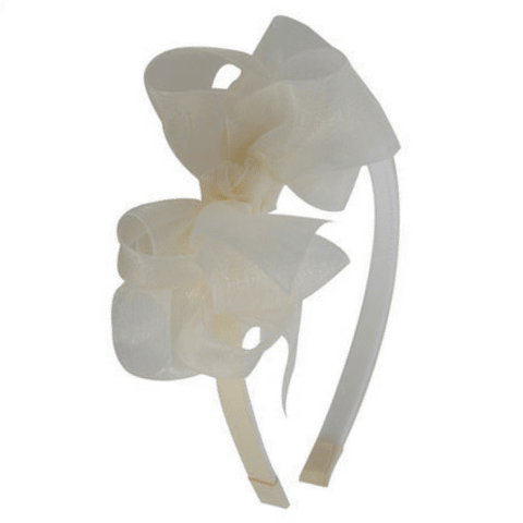 Tiara Boutique Organza Off White | Dalella