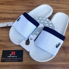 Chinelo Lcst Branco/Azul