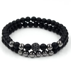 Kit 2x pulseiras Ball Black