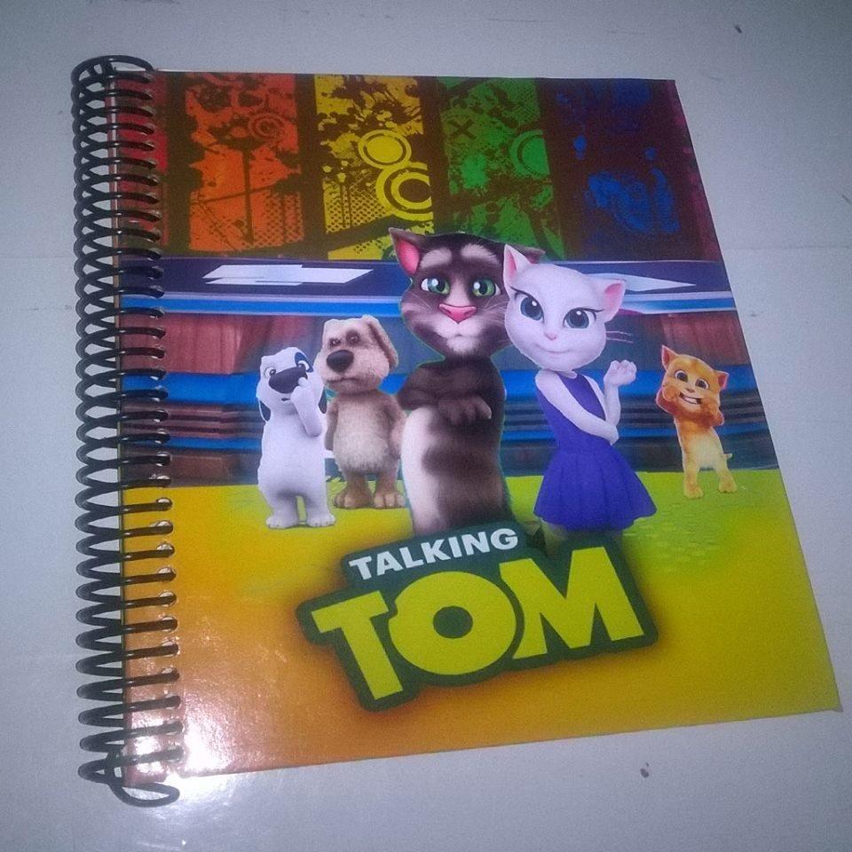 Talking Tom Cuaderno Personalizado.