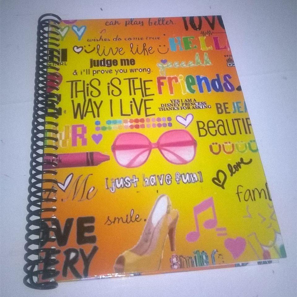 Funny words cuaderno Personalizado.