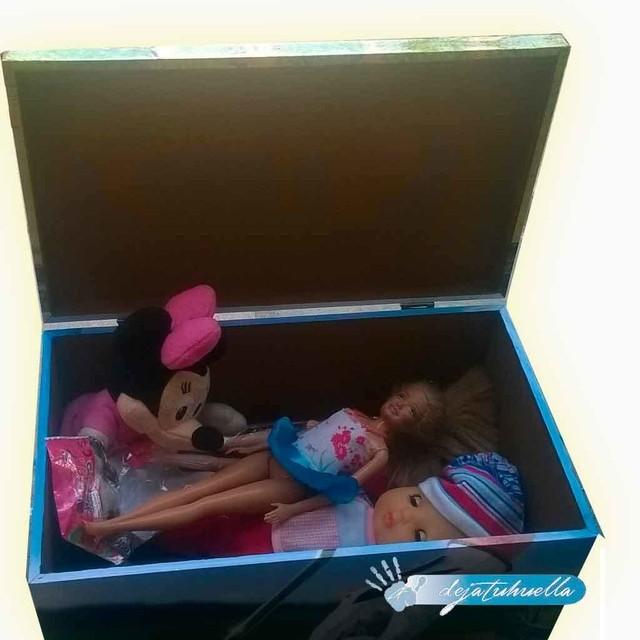 Cajas cofres de madera personalizados filtrado por m s - Baul guarda juguetes ...