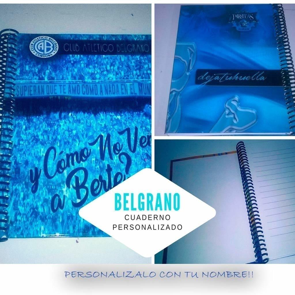 Belgrano cuaderno Personalizado