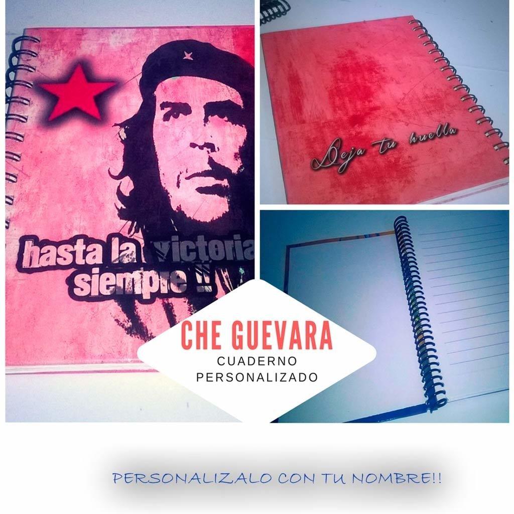 Che Guevara  cuaderno Personalizado.