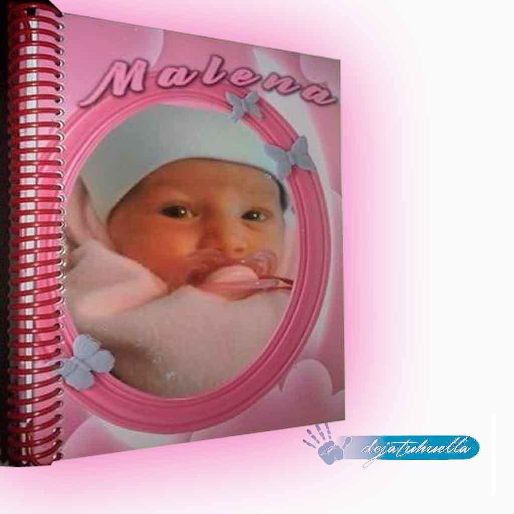 Baby cuaderno personalizado