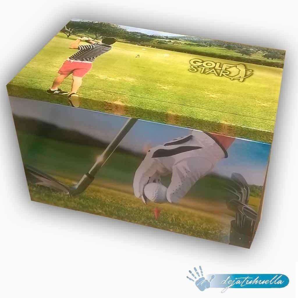 Golf cofre de madera edicion especial.