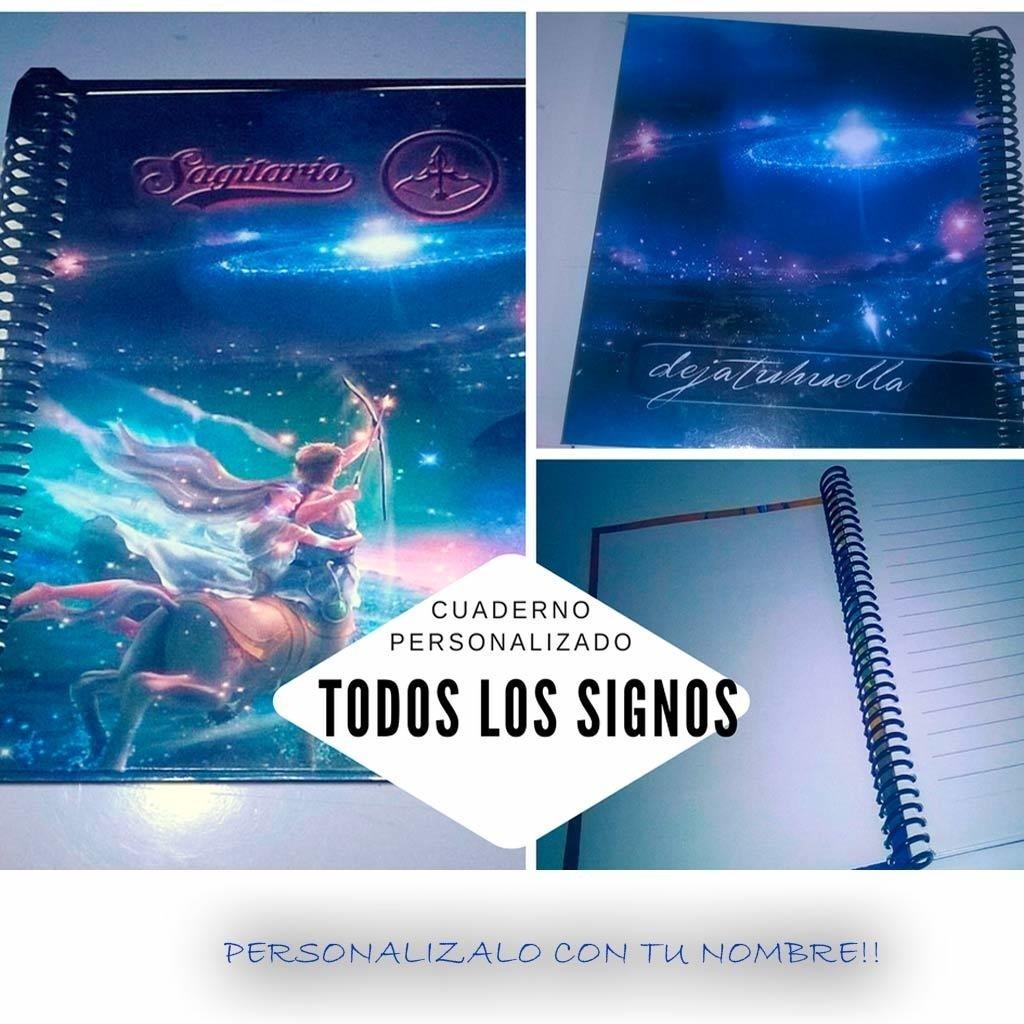 Signos cuaderno Personalizado