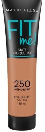 Base fit me 250 - Maybelline
