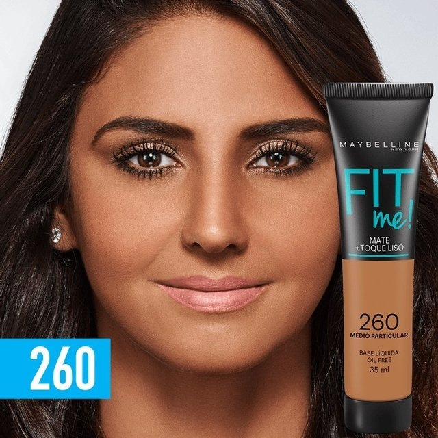 Base Fit me 260 - Maybelline