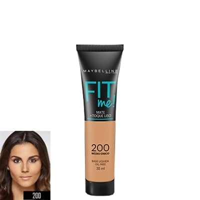 Base fit me 200 - Maybelline