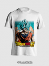 CAMISA GOKU BLUE DRAGON BALL SUPER MOD3 - comprar online