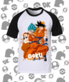 CAMISA RAGLAN DRAGON BALL GOKU MOD.2