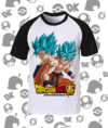 CAMISA DRAGON BALL GOKU BLUE
