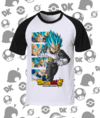 CAMISA DRAGON BALL VEGETA BLUE MOD.3
