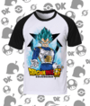 CAMISA DRAGON BALL VEGETA BLUE MOD.2