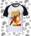 CAMISA DRAGON BALL GOKU SSJ FASES