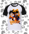 CAMISA RAGLAN DRAGON BALL GOKU MOD.3