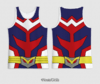 REGATA UNIFORME DRY ALL MIGHT BOKU NO HERO - comprar online