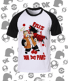 CAMISA DRAGON BALL GOKU E SEU AVÔ