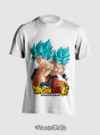 CAMISA GOKU BLUE DRAGON BALL SUPER - comprar online