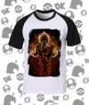 CAMISA DRAGON BALL GOKU TRANSFORMAÇÕES