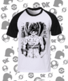 CAMISA DRAGON BALL GOKU PRETO E BRANCO