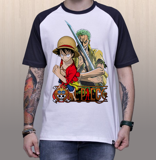 Camiseta One Piece | Luffy & Zoro