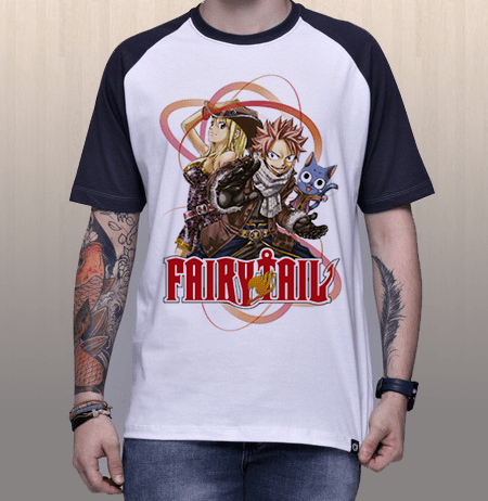 Camiseta Trio Fairy Tail
