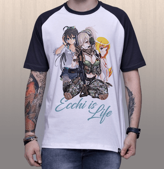Camiseta Ecchi is Life