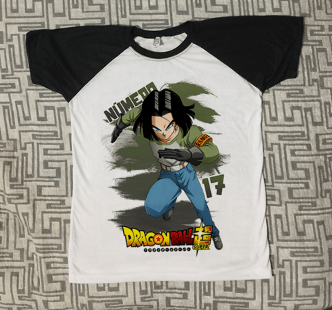 Camiseta Número 17 | Dragon Ball Z