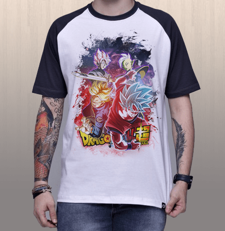 Camiseta Goku & Trunks x Zamasu & Black