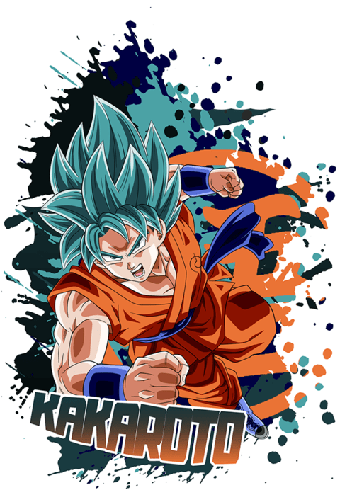 Camiseta Kakaroto  | Dragon Ball Super