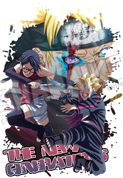 Camiseta New Generations | Boruto