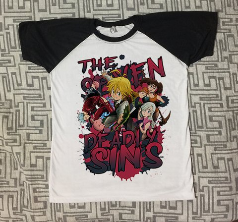 Camiseta The Seven Deadly Sins #2