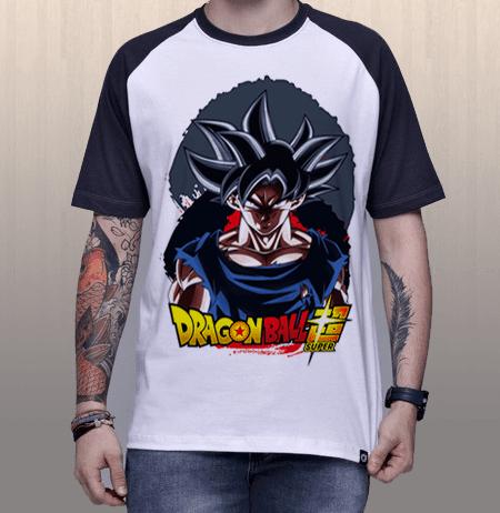 Camiseta Goku Instinto Superior Dragon Ball Super